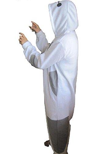 Amazon.co.jp: 【actgrowin】ベイマックス コスプレ衣装 S M L XL 豊富なサイズ ハロウィン クリスマス コスチューム  着ぐるみ 光る指輪セット (M 160~169cm)