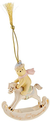 Lenox 2013 Winnie The Pooh Babys 1st Hanging Ornament