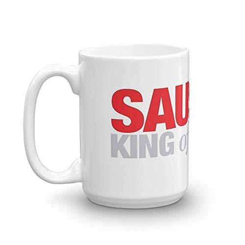 Ferris Bueller - Sausage King of Chicago Mug 15 Oz White Ceramic ()