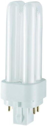 GE 13w Biax D//E Energy Saving 4-PIN Lamp Daylight Colour G24q-1 Cap F13DBX//T3//865//4P DE