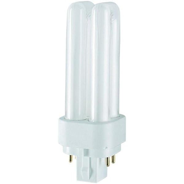 10x Osram Dulux D//E  G24q-1 13W//840 Leuchtstofflampe