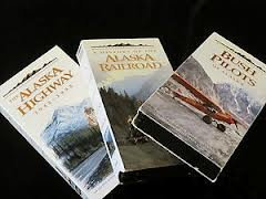 The Frontier Collection - Alaska - 4 VHS Video Cassette Collection - Includes The Alaska Highway