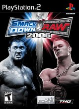 WWE Smackdown vs Raw 2006 - PlayStation 2 (Wwe Raw Game)