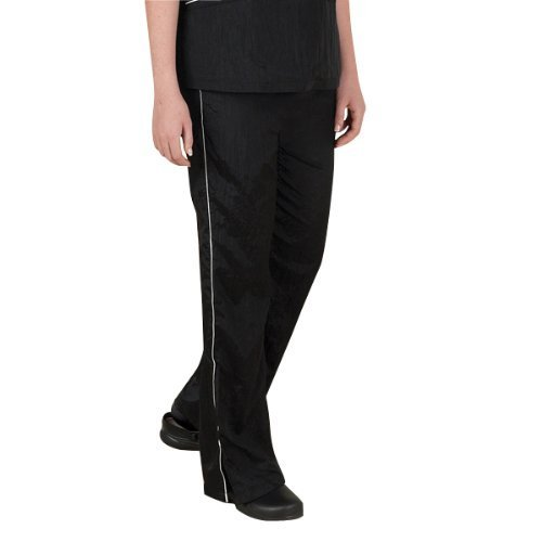 Top Performance Contrast Trim Grooming Pant, Small, Black White by PetEdge Dealer Services