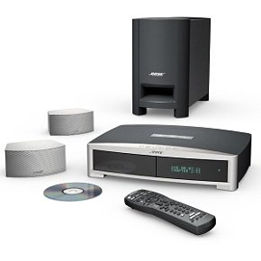 Bose(R) 321-GSX DVD Home Entertainment System Silver ()