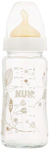 240ml Nuk Glass Feeding Bottle