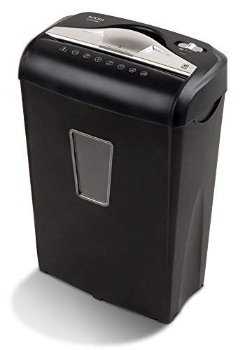 Lowest Price! Aurora AU870MA High-Security 8-Sheet Micro-Cut Paper Credit Card Shredder Black