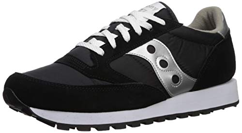 Saucony Originals Men's Jazz Sneaker,Black/Silver,7 M