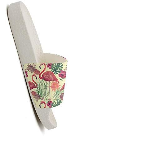Mix Pineapple Flamingo Women Tropical Watercolor Casual Slippers Sandals Fruit Bird Fashion fSqUY0