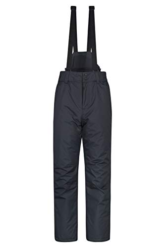 Mountain Warehouse Dusk Mens Ski Pants – Elastic Waist Snow Trousers