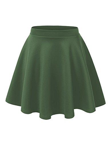 Olive Mini Skirt - 6