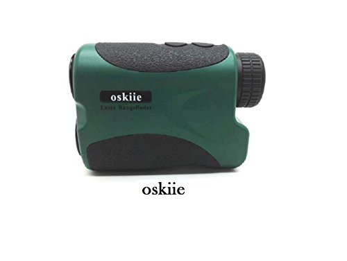 Ranges Finder - Hunting and Golf Course Range Finder Bundle - Laser Rangefinder - Batteries & Charger Included - Accurate Measurements Within +/- 1 Yard of Target - Oskiie PRO600