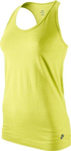 Nike Sportswear top - Ropa interior de fútbol para mujer Amarillo (Gelb)