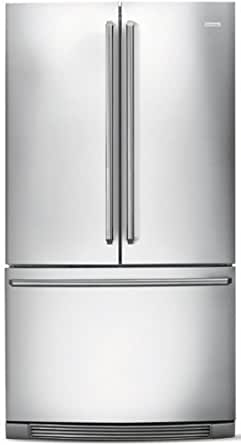 Electrolux EI27BS16JSIQ-Touch 26.6 Cu. Ft. Stainless Steel French Door Refrigerator - Energy Star