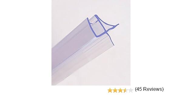 Junta flexible para mampara de ducha de 90 cm, grosor del cristal ...