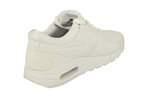 Nike Air Max Zero Essential GS Running Trainers 881224 Sneakers Shoes (UK 3 US 3.5Y EU 35.5, White Wolf Grey 100) by Nike (Image #2)