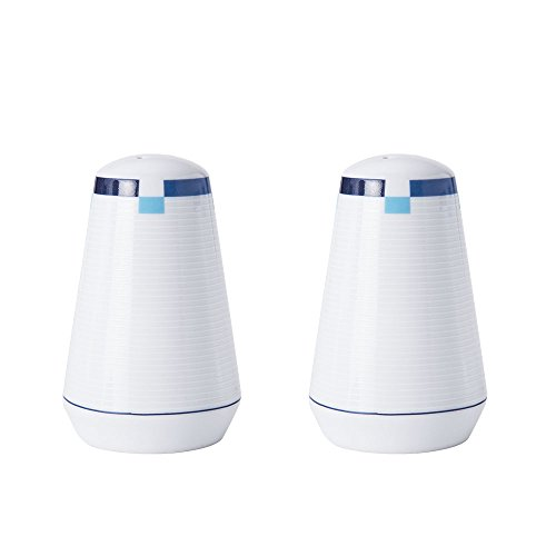Mikasa Jet Set Blue Salt and Pepper Set