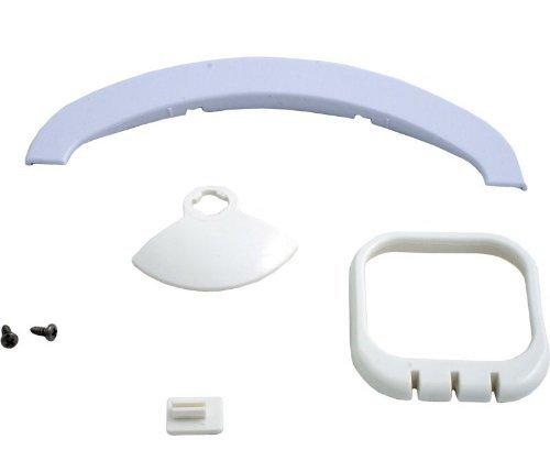 Zodiac R0375500 White Gunite Bumper Flatmouth Replacement Kit for Zodiac Jandy Automatic Pool - Bumper Vac