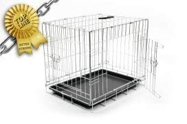 Duvo+ 780 471 Dog Crate Cage with Non-Slip Base