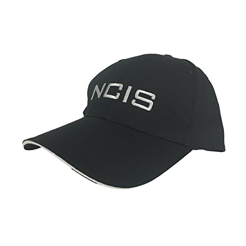 Agent Hat - NCIS Baseball Cap TV Show Series Hat Costume Black Adult Embroidered Agent Gift
