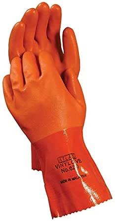 Showa mejor guante 620-xxl-11 tamaño 11 naranja Atlas 12 con ...