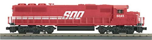 MTH 1:48 O Scale Rail King SOO #6045 Line SD60 Diesel Engine Car #30-2437-1