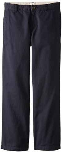 The Children's Place Little Boys' Chino Pant, New Navy, (Navy School Uniform Pants)