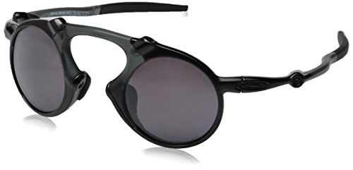 Oakley Men's Madman OO6019-05 Polarized Round Sunglasses, Da