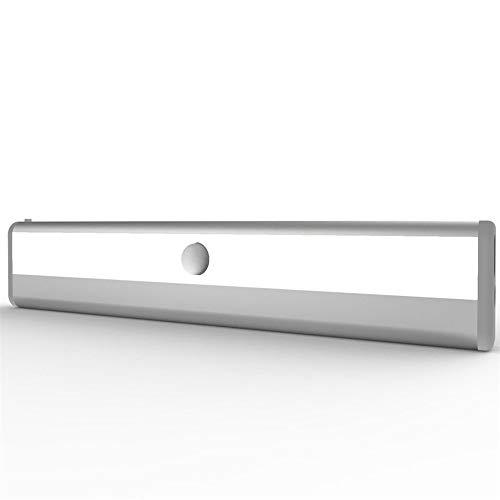LED Bright PIR Motion Sensor Light Cabinet Wardrobe Drawer Lamp Bulb for Home (Black)