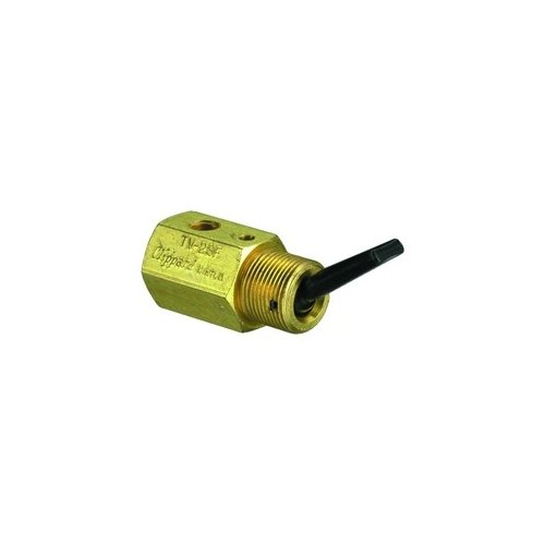 Clippard TV-2SF 2-Way Toggle Valve, N-C, Plastic Toggle, 10-32, 8.0 SCFM At100 PSIG by clippard