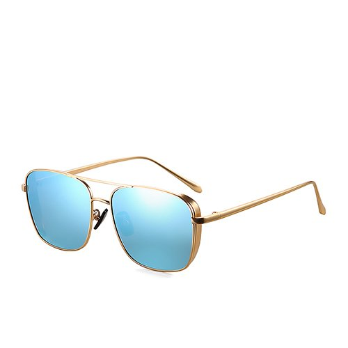Sol Steampunk Gold TL Hombres para Metal de polarizadas Gold Sunglasses Blue de de C3 Viaje Gafas Gafas Pesca de Blue de de Guía Sol Bastidor Gafas C3 rIqIPwOn4