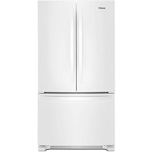 Whirlpool WRF540CWHW 20 Cu. Ft. White Counter Depth French D