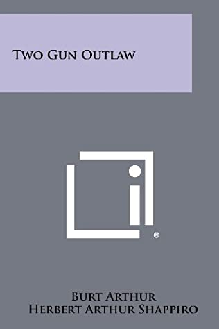 book cover of Two-Gun Outlaw