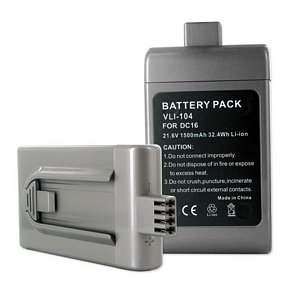 Dyson DC16 Animal Vacuum Cleaner Battery (LI-ION 21.6V 1500mAh) - Replacement For Dyson DC16 Vacuum Battery by EMPIRE