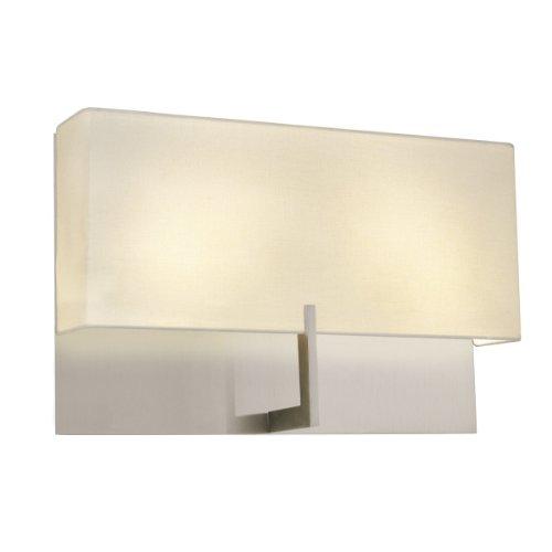 Sonneman 4431.13, Staffa Tall Wall Sconce Lighting, 4 Light, 80 Total Watts, Satin Nickel ()