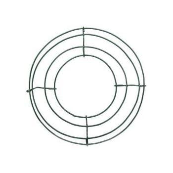 Amazon Com Bulk Buy Panacea Wire Wreath Frame 8 Green 36001 10