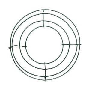 "Bulk Buy: Panacea Wire Wreath Frame 8"" Green 36001 (10-Pack) 10"