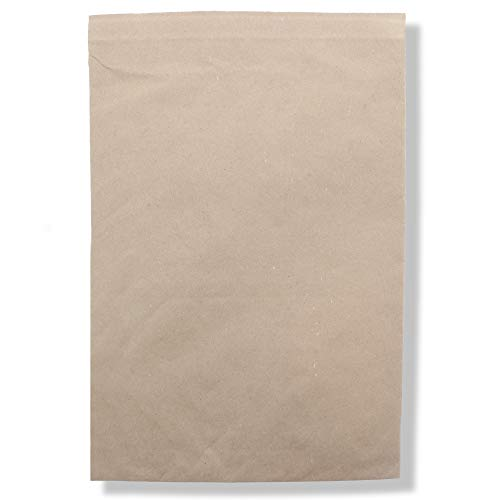 (Jiffy Padded Mailer - Self Seal, All-Purpose Self-Seal Closure, 100% Recycled Paper Fibers, Cushioning Protection, 100% Recyclable (#6, 12-1/2 x 19, Natural Kraft, Pack of 50) - Sealed Air)