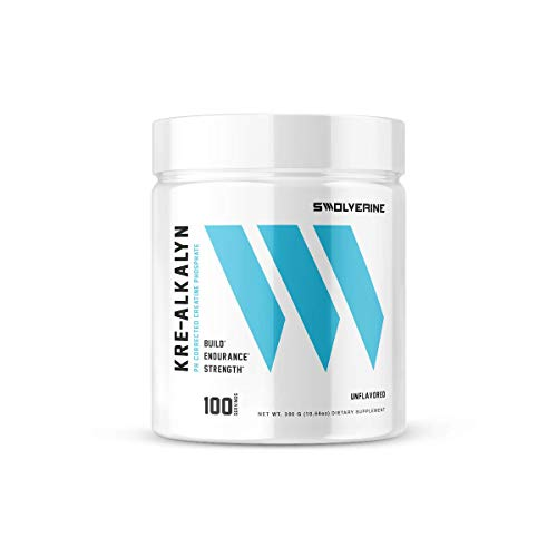 Kre-Alkalyn   pH Correct Creatine Monohydrate, Build Strength, Gain Muscle, Power Performance, Enhance Endurance, Unflavored, (100 Servings)