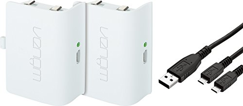 Venom Xbox One Rechargeable Battery Twin Pack White (Xbox One)