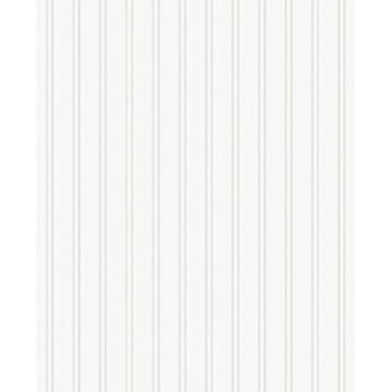 Graham U0026 Brown Paintable Prepasted Beadboard Stripes Texture Wallpaper,  White