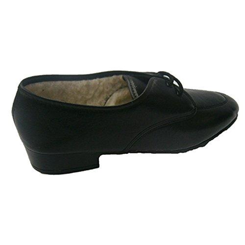 Lacets de chaussures avec des moutons Mayjo en noir