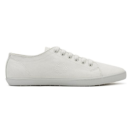 Fred Perry Kingston Microfibre Trainers Natural Cement t2MZrVruY
