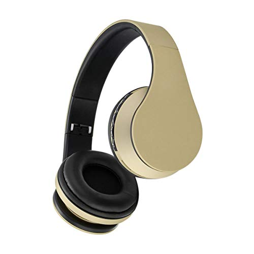 Fanboy S580 Stereo Earphones Music Headphone Headset Fm and Support Card with Mic Wireless Headsets ()