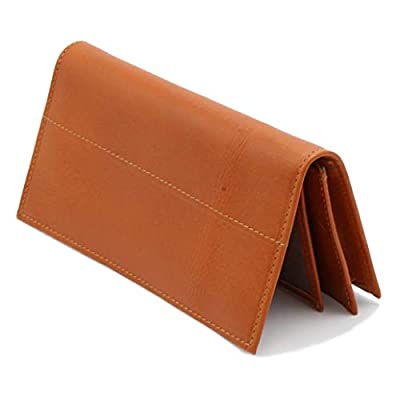 Tlusso Long Genuine Lealther Wallet – Credit Card Holder –Handmade Trifold Stylish Leather Wallet For Men