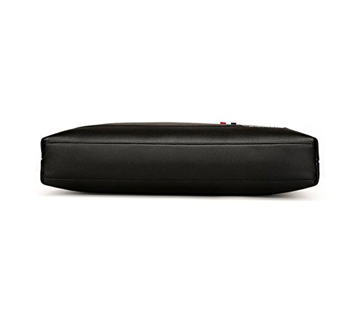 Briefcase Casual Handbag Shoulder Bag Business Men Black1 Horizontal Messenger 's Fashionable 7qxSp8