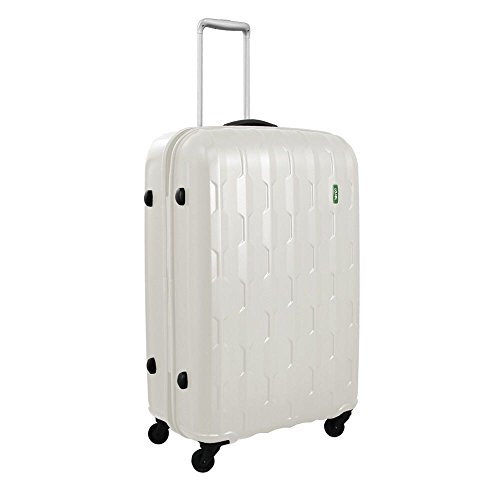 lojel-arrowhead-polycarbonate-medium-upright-spinner-luggage-off-white-one-size
