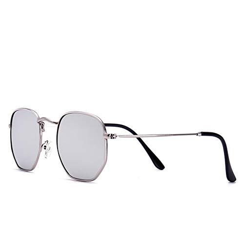 145 135 C sol 44m sol NIFG gafas del m polígono coloridas las forman metal de gafas retro de Las del ggHqwZpax