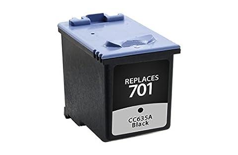 Remanufactured Inkjet, HP 701 Black, CC635A, (#701), - 640, 2140 Fax