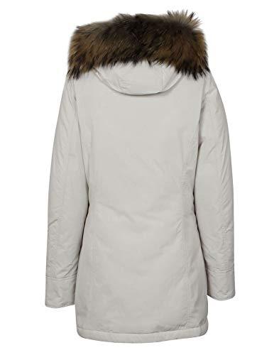 Woolrich Wwcps2131sm20wht Poliéster Mujer Blanco Abrigo rrRqS70x